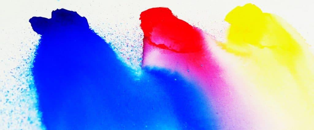 Aqua Drops auf ForMarkers Keilrahmen leuchten